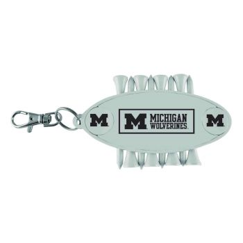 University of Michigan-Caddy Bag Tag