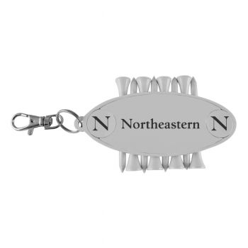 Northeastern University-Caddy Bag Tag