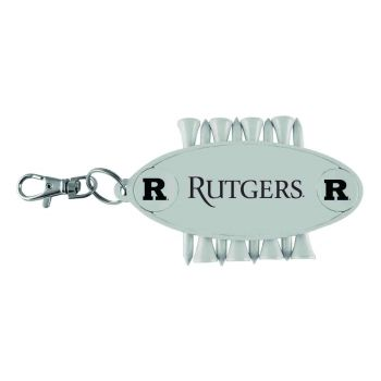 Rutgers University-Caddy Bag Tag