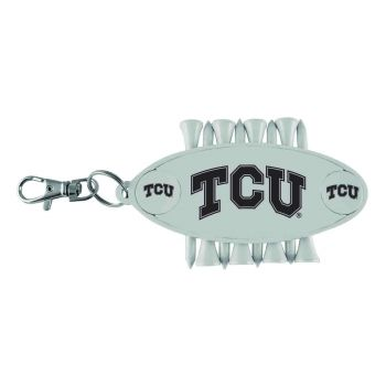 Texas Christian University-Caddy Bag Tag