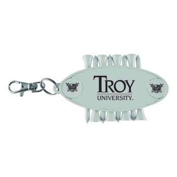 Troy University-Caddy Bag Tag