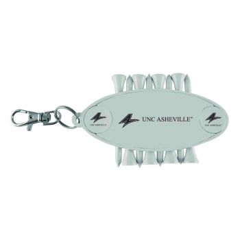University of North Carolina at Asheville-Caddy Bag Tag