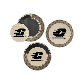 Central Michigan University-Poker Chip Golf Ball Marker