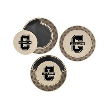 College of Charleston-Poker Chip Golf Ball Marker
