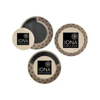 Iona College-Poker Chip Golf Ball Marker
