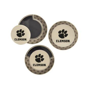 Clemson University-Poker Chip Golf Ball Marker