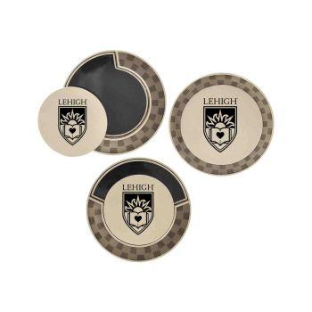 Lehigh University-Poker Chip Golf Ball Marker