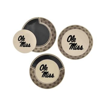 University of Mississippi -Poker Chip Golf Ball Marker