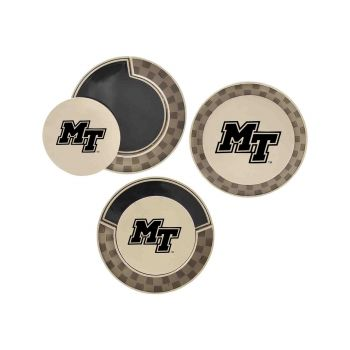 Middle Tennessee State University-Poker Chip Golf Ball Marker