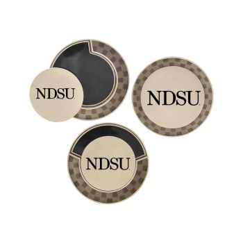 North Dakota State University-Poker Chip Golf Ball Marker