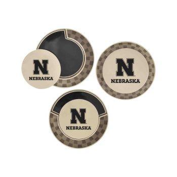 University of Nebraska-Poker Chip Golf Ball Marker