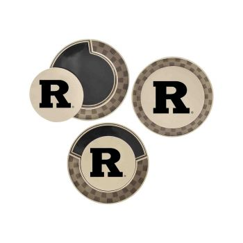 Rutgers University-Poker Chip Golf Ball Marker