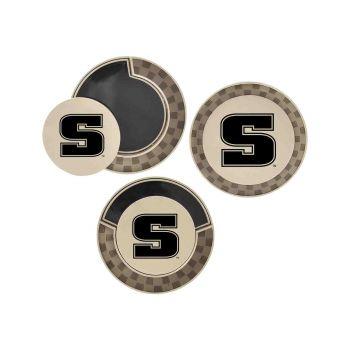 Slippery Rock University -Poker Chip Golf Ball Marker