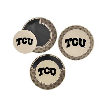 Texas Christian University-Poker Chip Golf Ball Marker