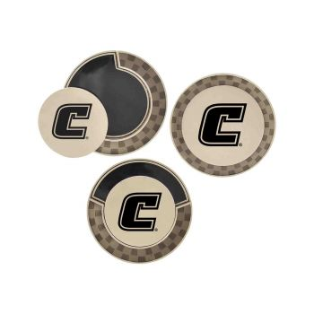 University of Tennessee at Chattanooga-Poker Chip Golf Ball Marker