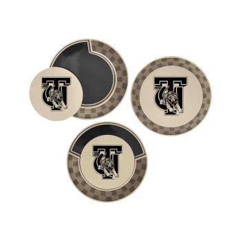 Tuskegee University-Poker Chip Golf Ball Marker