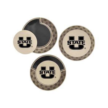 Utah State University-Poker Chip Golf Ball Marker
