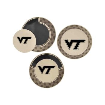 Virginia Tech-Poker Chip Golf Ball Marker