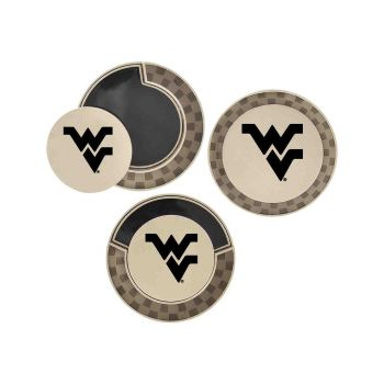 West Virginia University-Poker Chip Golf Ball Marker