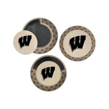 University of Wisconsin-Poker Chip Golf Ball Marker