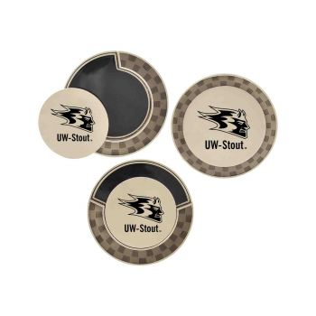 University of Wisconsin-Stout-Poker Chip Golf Ball Marker