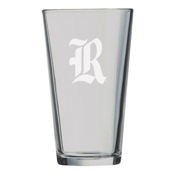 Rice University -16 oz. Pint Glass