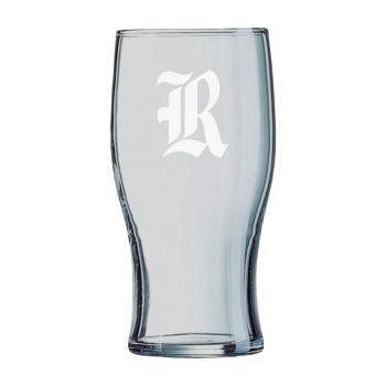 Rice University-Irish Pub Glass