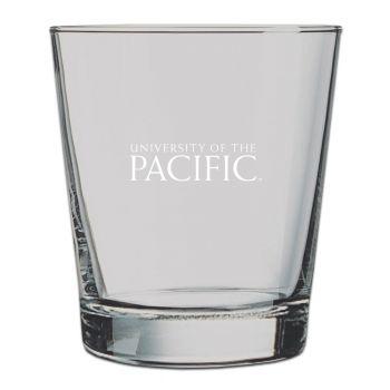University of The Pacific -13 oz. Rocks Glass