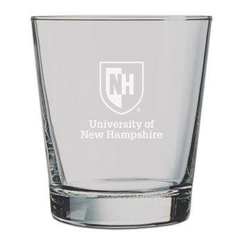 University of New Hampshire -13 oz. Rocks Glass