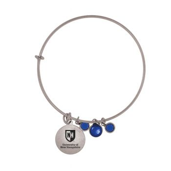 University of New Hampshire-Frankie Tyler Charmed Bracelet
