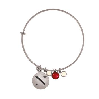 Northeastern University-Frankie Tyler Charmed Bracelet