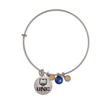 University of Northern Colorado-Frankie Tyler Charmed Bracelet