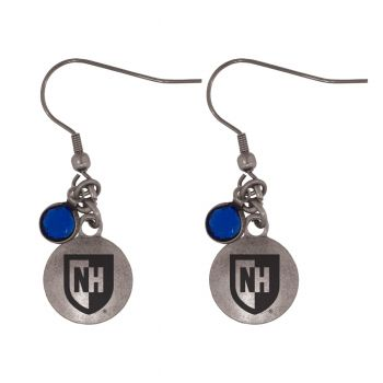 University of New Hampshire-Frankie Tyler Charmed Earrings