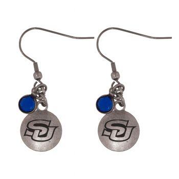 Southern University-Frankie Tyler Charmed Earrings