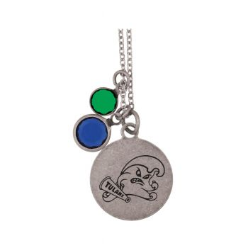 Tulane University -Frankie Tyler by LXG Charmed Necklace