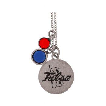 University of Tulsa-Frankie Tyler by LXG Charmed Necklace