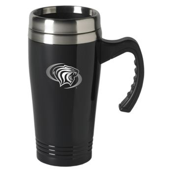 University of The Pacific-16 oz. Stainless Steel Mug-Black