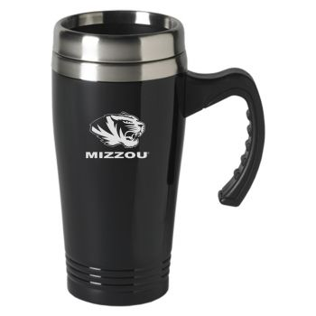 University of Missouri-16 oz. Stainless Steel Mug-Black