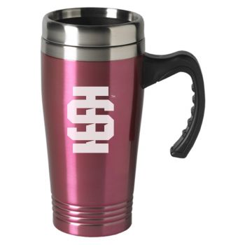 Idaho State University-16 oz. Stainless Steel Mug-Pink