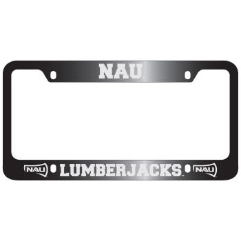 Northern Arizona University -Metal License Plate Frame-Black