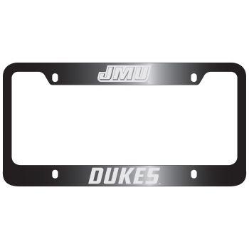 James Madison University-Metal License Plate Frame-Black