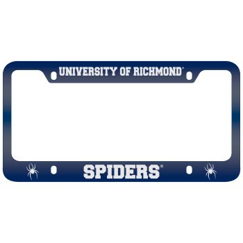 University of Richmond -Metal License Plate Frame-Blue