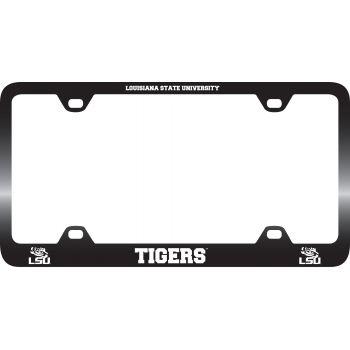 Louisiana State University-Metal License Plate Frame-Black