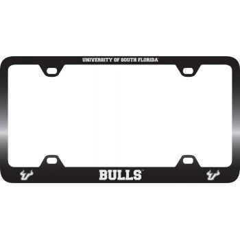 University of South Florida -Metal License Plate Frame-Black