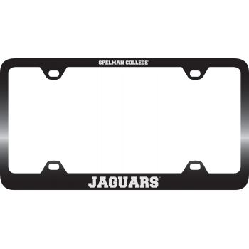 Spelman College -Metal License Plate Frame-Black