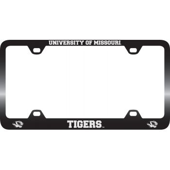 University of Missouri -Metal License Plate Frame-Black