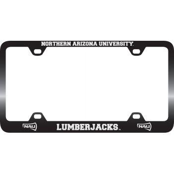 Northern Arizona University -Metal License Plate Frame-Black