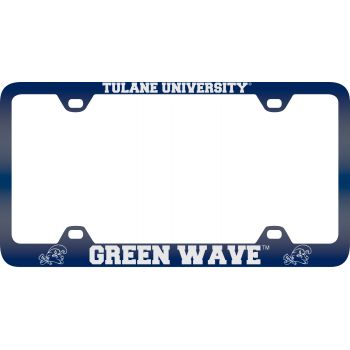 Northern Arizona University -Metal License Plate Frame-Blue