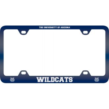 Arizona Wildcats -Metal License Plate Frame-Blue