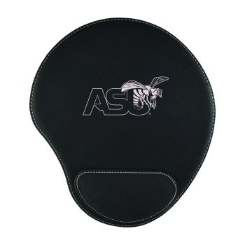 Alabama State University-Padded Velour Mouse Pad-Black